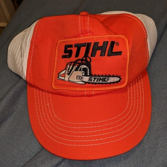 41fa1f512369bf Accessories | Awesome Stihl Hat New Make Offer | Poshmark